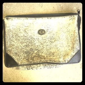 """Gucci tablet/ cosmetic bag 12"""" x 9"""" vintage authen"""